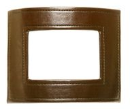 Leather Photo Frame Royalty Free Stock Image