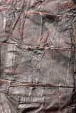 Leather pieces texture Royalty Free Stock Photo