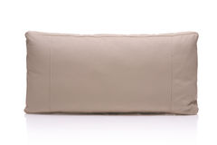 Leather pillow Royalty Free Stock Images