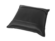 Leather pillow Royalty Free Stock Photography