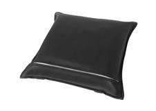 Leather pillow Royalty Free Stock Photo