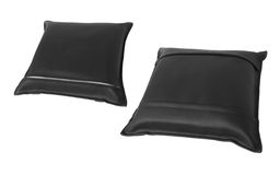 Leather pillow Royalty Free Stock Image