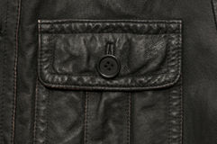 Leather pocket Royalty Free Stock Image