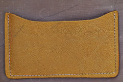 Leather pocket. Stock Images