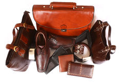 Leather Products Stock Photos