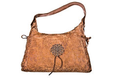 Leather purse Royalty Free Stock Photography