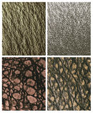 Leather reptiles pattern in natural colors. Textures imitating the skin of reptiles and amphibians Royalty Free Stock Photography