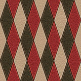 Leather rhombus Royalty Free Stock Photo