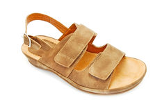 Leather sandal Stock Images