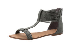 Leather sandal Stock Photography