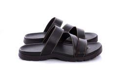 Leather sandal Stock Image