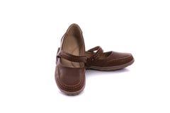 Leather sandal Royalty Free Stock Image