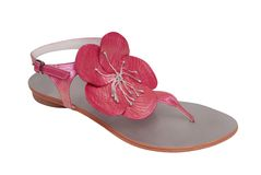 Leather sandal royalty free stock images