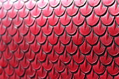 Leather scales pattern Royalty Free Stock Photography