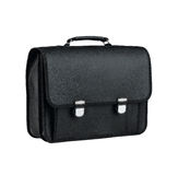 Leather school bag Royalty Free Stock Photo