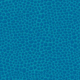 Leather seamless blue background pattern, skin texture. Vector illustration Stock Photo