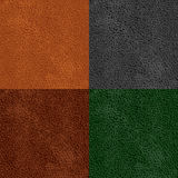 Leather seamless pattern Stock Photo