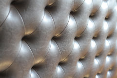 Leather seamless tileable background pattern,diamond stitched le Royalty Free Stock Photo