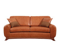 Leather seats Stock Image