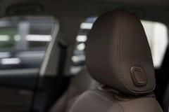Leather seats. Stock Photo