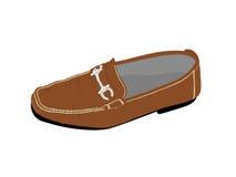 Leather shoe Stock Photo