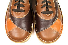 Leather shoes Royalty Free Stock Photo