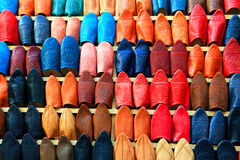 Leather shoes Stock Photos