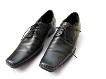 Leather Shoes Royalty Free Stock Photos