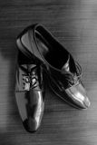 Leather shoes Stock Photography