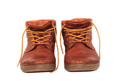 Leather shoes Royalty Free Stock Image