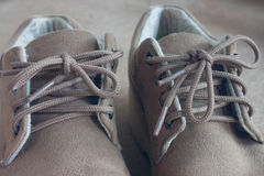 Leather shoes for men Royalty Free Stock Image