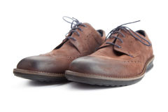 Leather shoes for men Stock Image