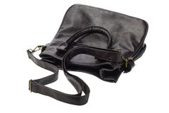 Leather Sling Bag Royalty Free Stock Photography