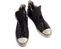 Leather sneaker Royalty Free Stock Images