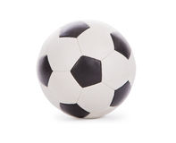 Free Leather Soccer Ball Isolated On White Stock Image - 18970541