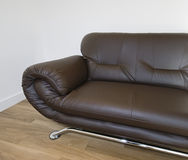 Leather sofa Stock Photos