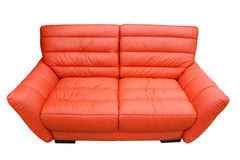 A leather sofa Stock Photos