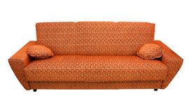 A leather sofa Royalty Free Stock Images