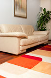 Leather sofa Stock Image