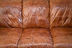 Leather sofa Stock Photography