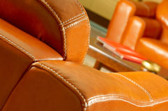 Leather Sofa Royalty Free Stock Image