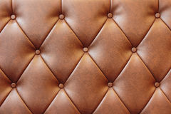Leather sofa background Stock Image