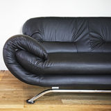 Leather sofa detail Royalty Free Stock Photo