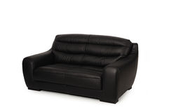 Leather sofa Royalty Free Stock Images