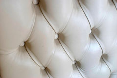 Leather sofa texture Stock Images