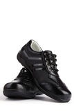 Leather Sport Shoe Stock Photography
