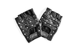 Leather sports gloves Royalty Free Stock Photography