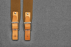 Leather strap with a buckle Royalty Free Stock Photography