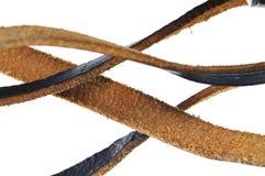 Leather straps. Stock Photos