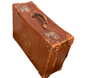 Leather suitcase Royalty Free Stock Image